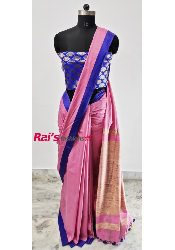 Pure Handloom Cotton By Cotton Saree(2J3)