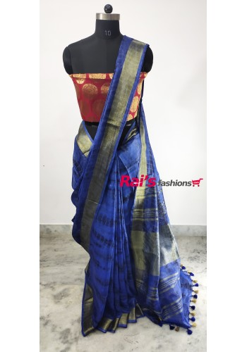Linen by Linen With Sree Vori Print Saree(18DC2)