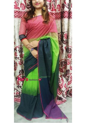 Pure Handloom Cotton Khadi (RGW56002)